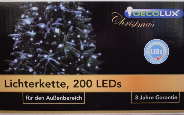 LED-Lichterkette/200LEDs/kaltweiß