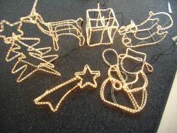 3D-Lichterschlauch-Figuren
