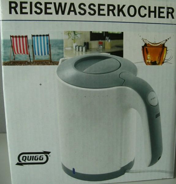 Wasserkocher Reisewasserkocher 0,5 Liter / Quigg