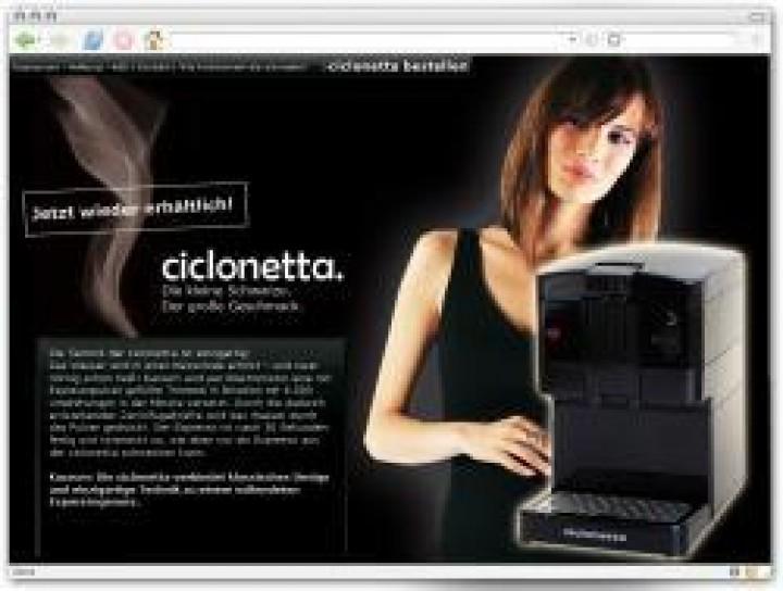 Picco Espressomaschine Ciclonetta