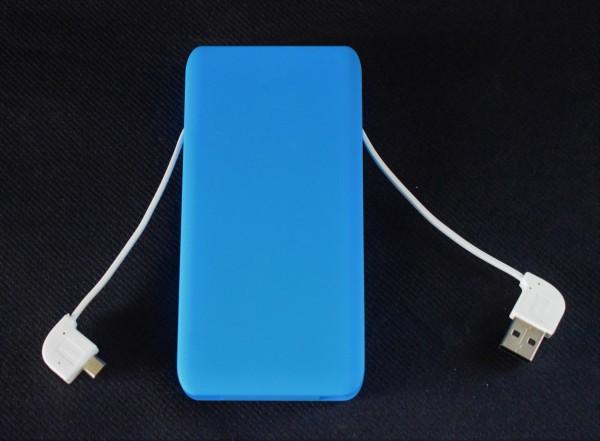 Powerbank/mitKabel/blau