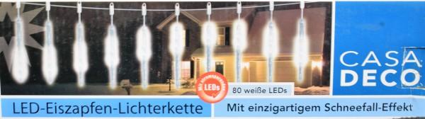 LED-Eiszapfen-Lichterkette