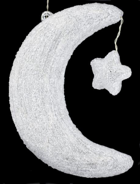 LED-Acrylfigur Mondsichel