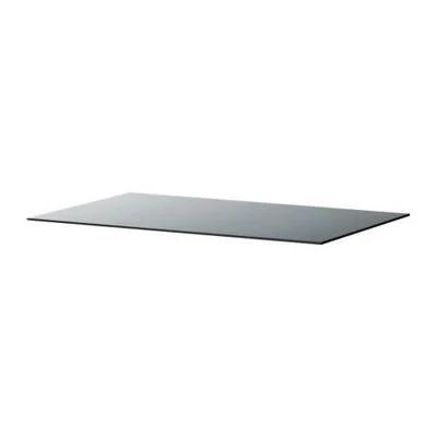 Glasplatte/grau/146cm x 75cm