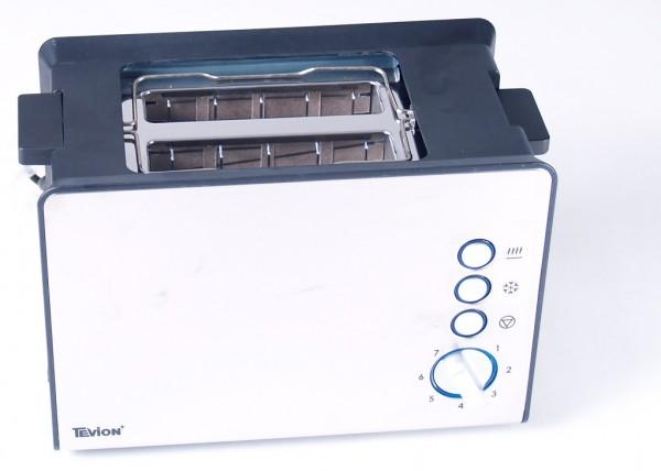 Edelstahl Doppelschlitztoaster 1000 Watt