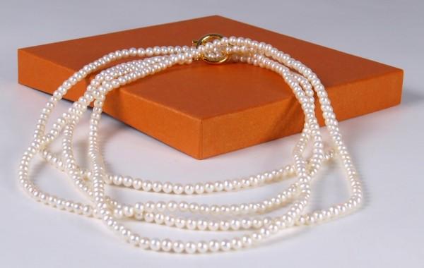 Perlenkette Marie 585 Gold 234929