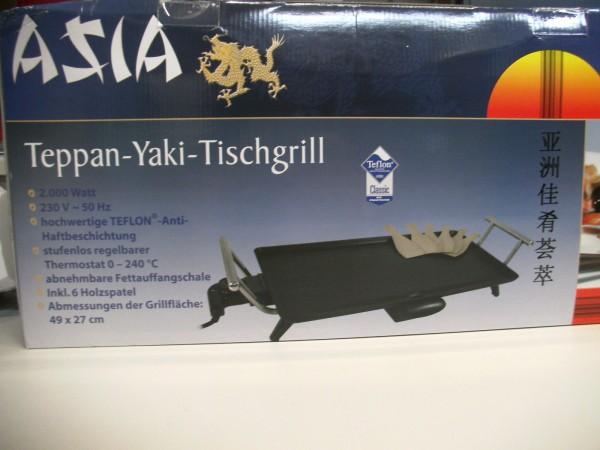 Teppan-Yaki-Tischgrill