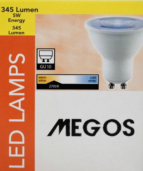 LedLamps/5erSet/345Lumen/5W/GU10