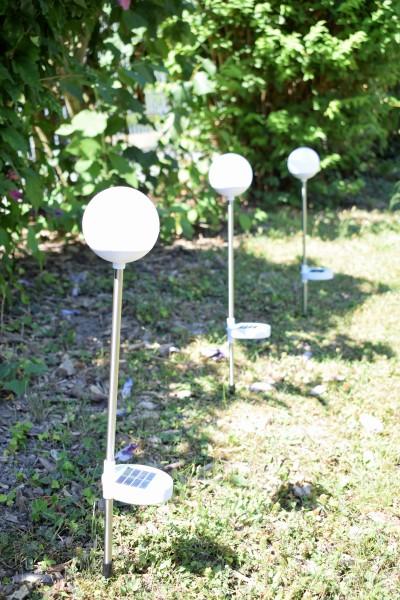 6 Solar-LED-Steckleuchten