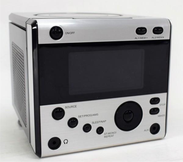 Stereo Uhrenradio mit CD-Player schwarz Terris CDR334
