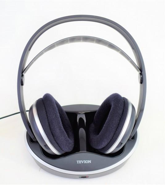 Stereofunkkopfhörer Set schwarz Tevion FKH394