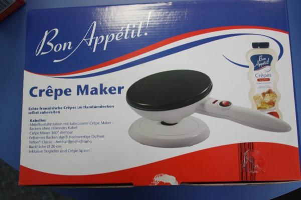 Crêpes Maker - 20cm Durchmesser - 800 Watt - Antihaft